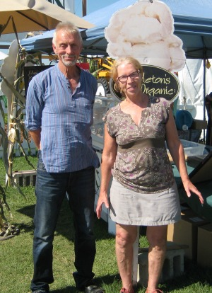Martin & Ineke at the Outdoor Farm Show